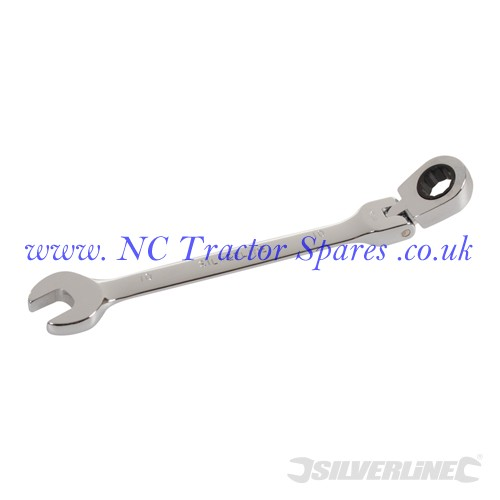 Flexible Head Ratchet Spanner 10mm (Silverline)