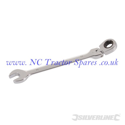 Flexible Head Ratchet Spanner 11mm (Silverline)
