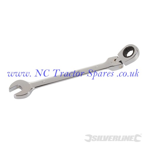 Flexible Head Ratchet Spanner 12mm (Silverline)