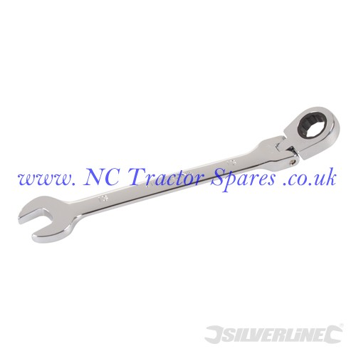 Flexible Head Ratchet Spanner 13mm (Silverline)