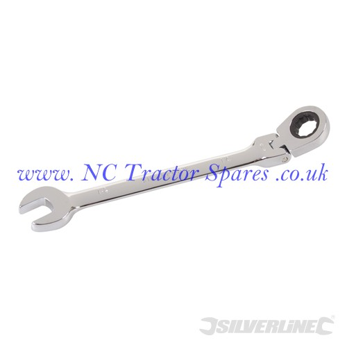 Flexible Head Ratchet Spanner 14mm (Silverline)