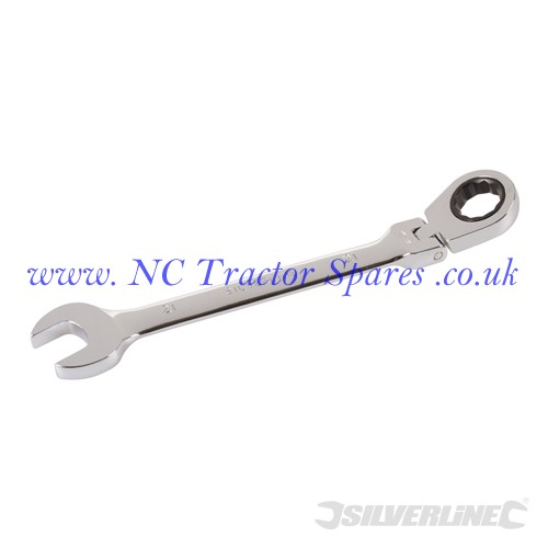 Flexible Head Ratchet Spanner 21mm (Silverline)