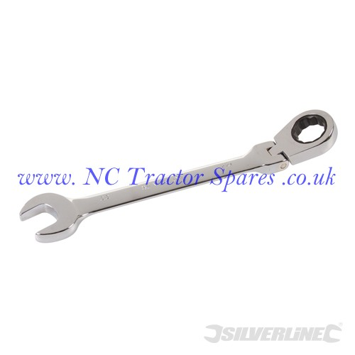 Flexible Head Ratchet Spanner 22mm (Silverline)