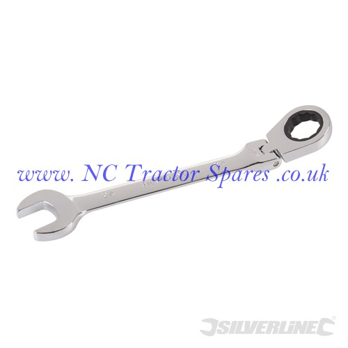 Flexible Head Ratchet Spanner 24mm (Silverline)