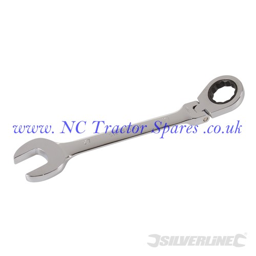 Flexible Head Ratchet Spanner 27mm (Silverline)