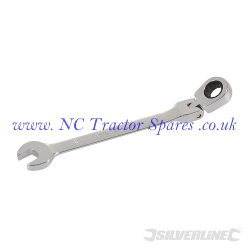 Flexible Head Ratchet Spanner 9mm (Silverline)