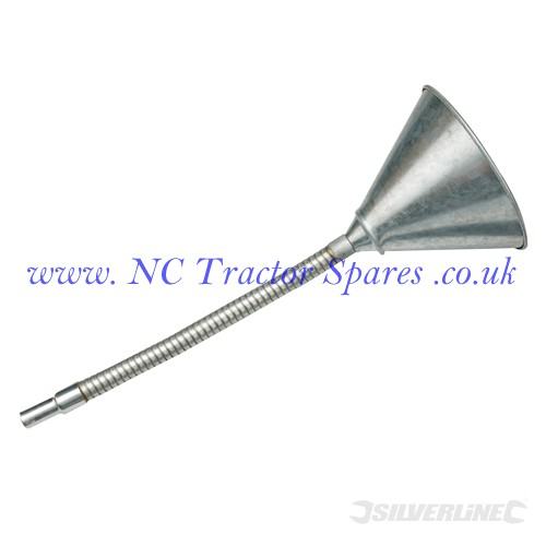 Flexible Steel Funnel 150mm (Silverline)