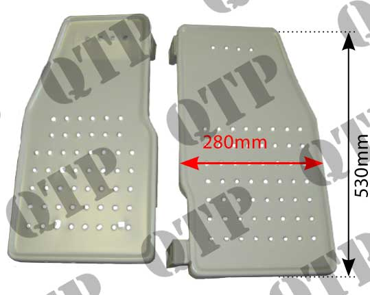 Foot Step Ford 2000 3000 - PAIR