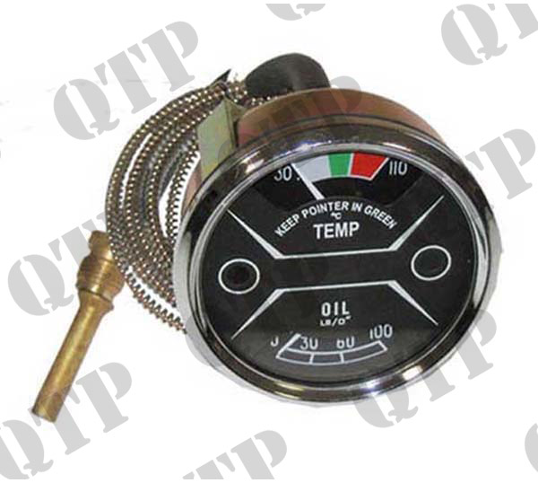 Gauge Nuffield 1060 Oil & Temperature