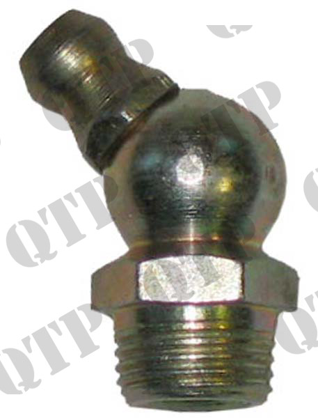 "Grease Nipple 1/4"" 45 UNF"