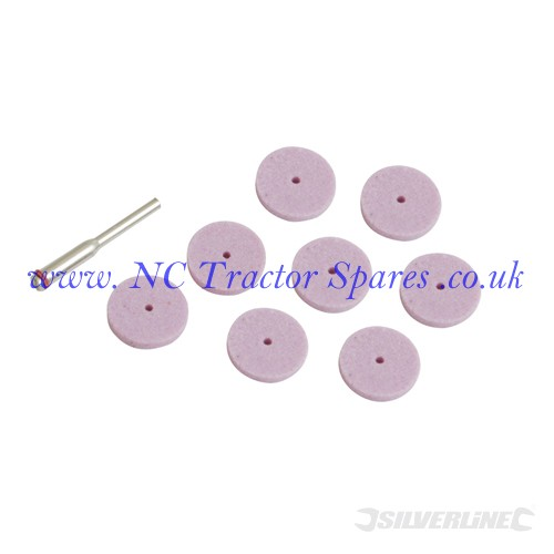 Grinding Disc Kit 9pce 20mm (Silverline)