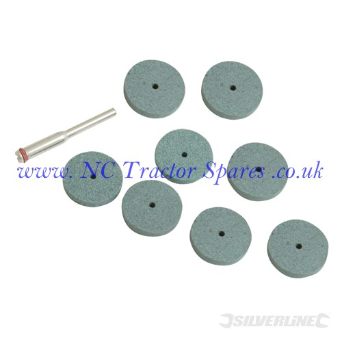 Grinding Disc Kit 9pce 20mm (Silverline).