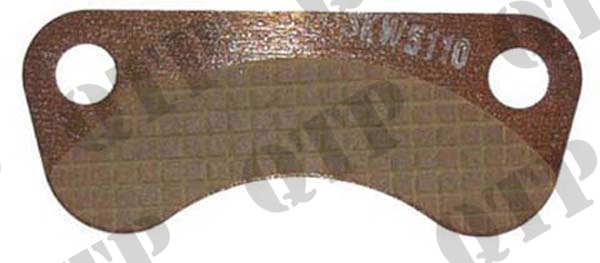 Hand Brake Pad Fiat - 1 Sided