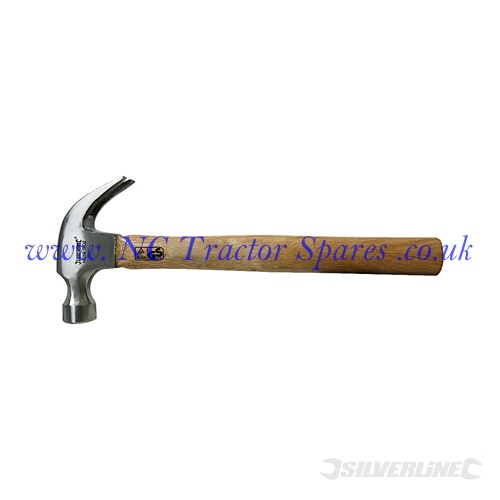 Hardwood Shaft Claw Hammer 16oz (Silverline)
