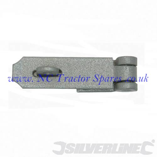 Hasp & Staple Heavy Duty 40 x 115mm (Silverline)