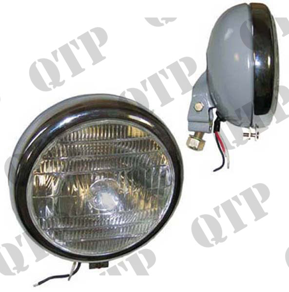 Head Lamp 20D V/M Chrome Rim Grey BPF 45/40W