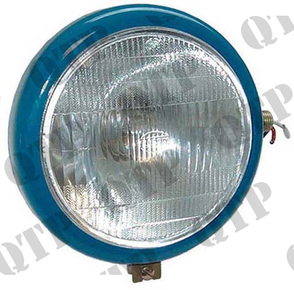 Head Lamp Blue Ford RH Plain Lens