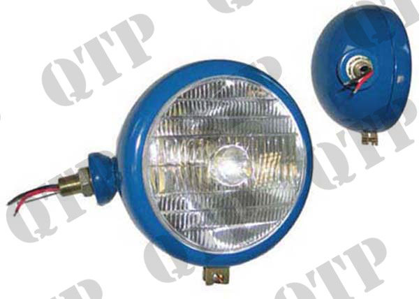 Head Lamp Blue LH BPF 40/45W Tractor Logo