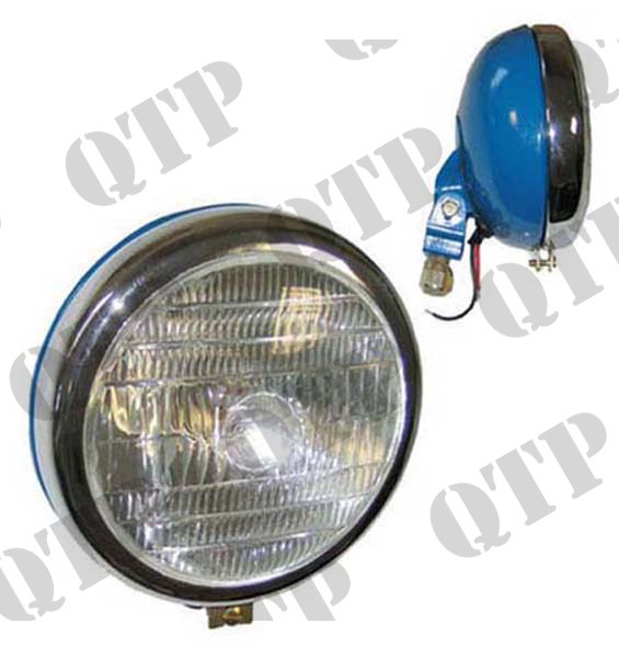 Head Lamp Blue Rim V/M Chrome BPF40/45W