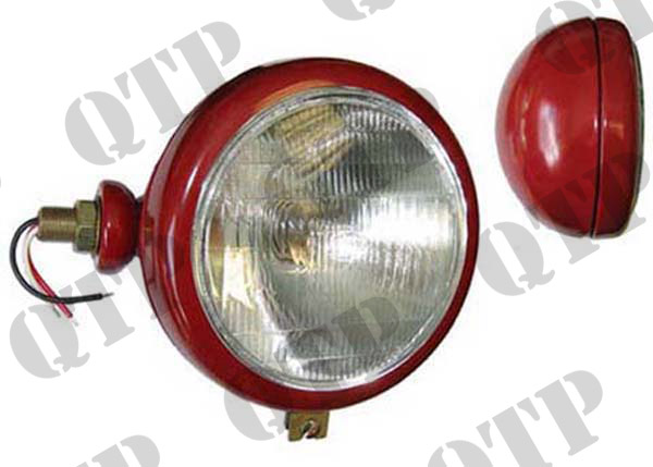 Head Lamp Red 35 LH Plain Lens