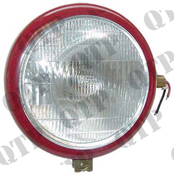 Head Lamp Red 35 RH Plain Lens