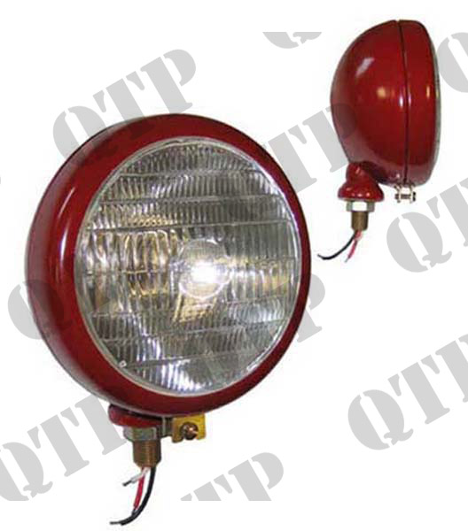Head Lamp Red V/M BPF 40/45W c/o Tractor Logo