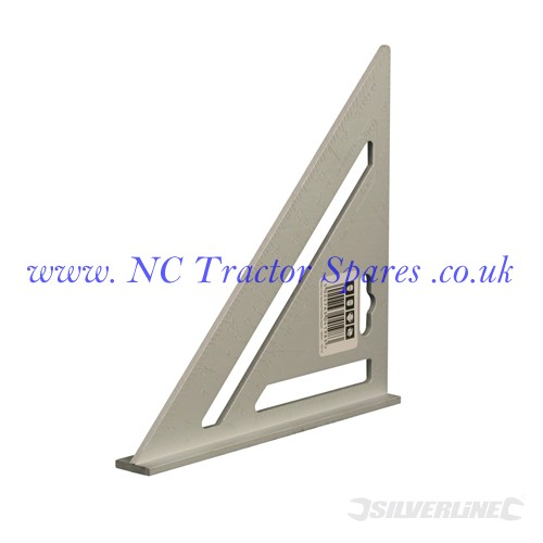 Heavy Duty Aluminium Roofing Rafter Square 185mm (Silverline)
