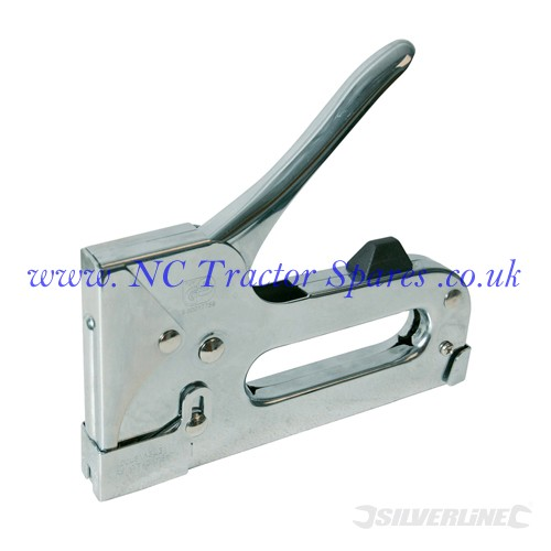 Heavy Duty Steel Staple Gun 12-14mm (Silverline)