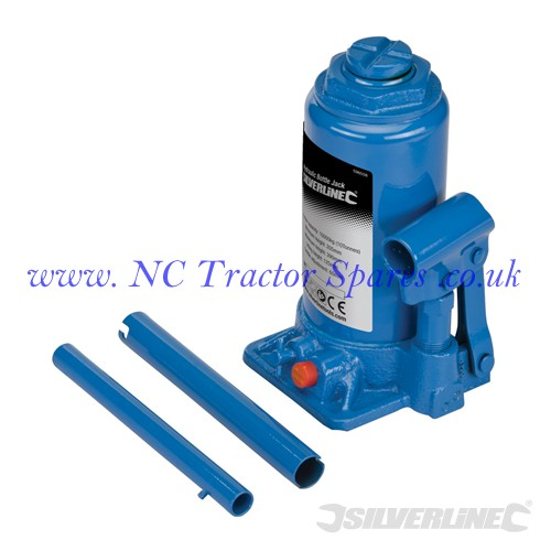 Hydraulic Bottle Jacks 10 Tonne (Silverline)