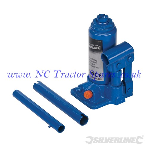 Hydraulic Bottle Jacks 2 Tonne (Silverline)