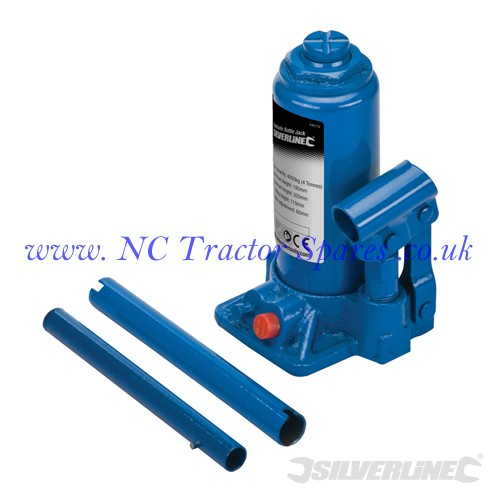 Hydraulic Bottle Jacks 4 Tonne (Silverline)