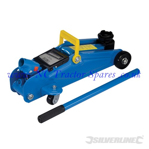 Hydraulic Trolley Jack 2 Tonne (Silverline)