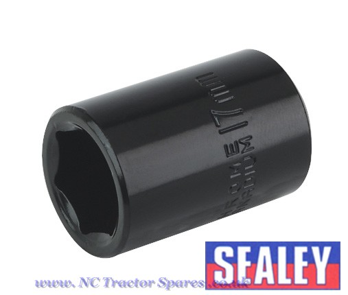 "Impact Socket 17mm 1/2""Sq Drive"