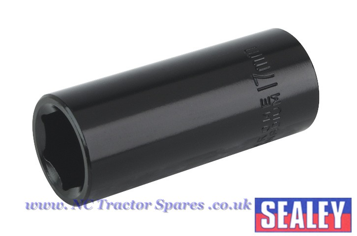 "Impact Socket 17mm Deep 3/8""Sq Drive"