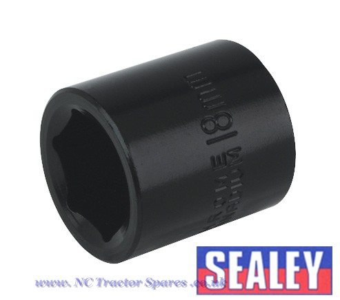 "Impact Socket 18mm 3/8""Sq Drive"