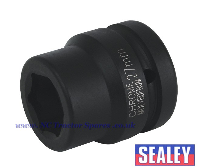 "Impact Socket 27mm 1""Sq Drive"