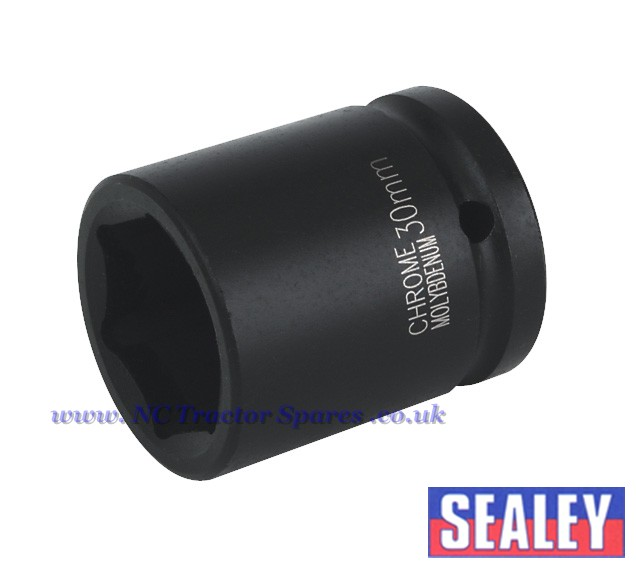 "Impact Socket 30mm 3/4""Sq Drive"