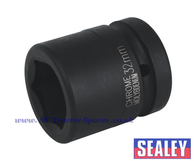 "Impact Socket 32mm 1""Sq Drive"