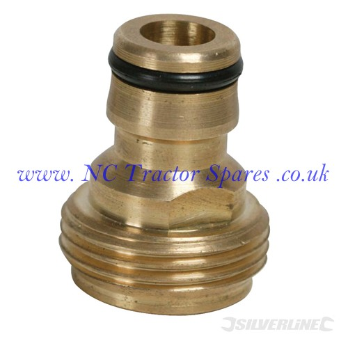 "Internal Adaptor Brass 1/2"" Male (Silverline)"