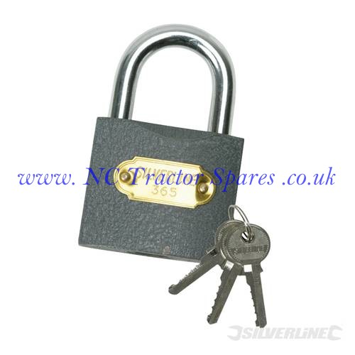 Iron Padlock 50mm (Silverline)