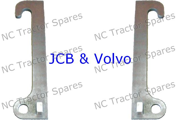 JCB & Volvo Loader Bracket Pair