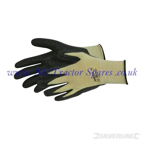 Kevlar Mix Nitrile Gloves One Size (Silverline)