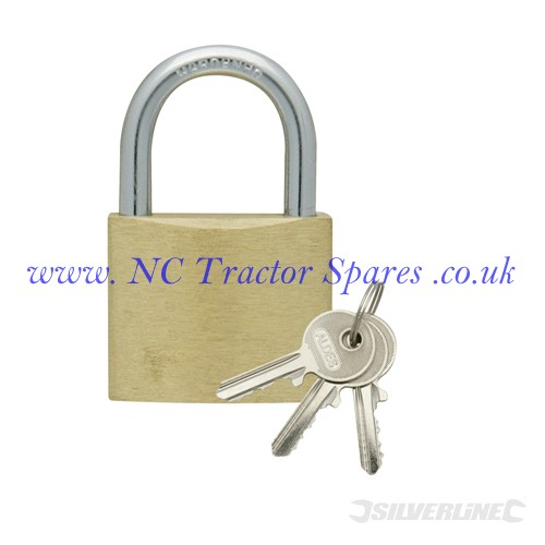 Keyed Alike Padlocks Set 4pce 40mm (Silverline)