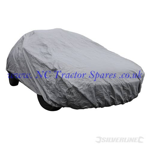 Large Car Cover 4820 x 1190 x 1770mm (L) (Silverline)