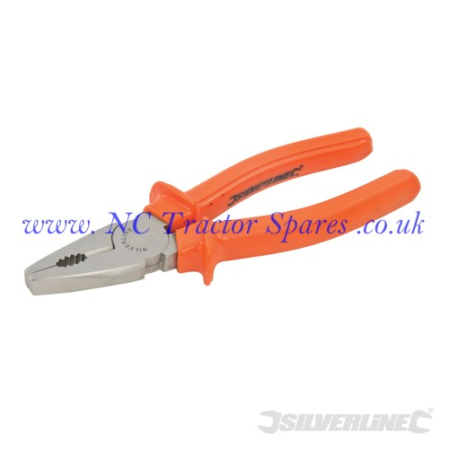 Linesmans Pliers 180mm (Silverline)