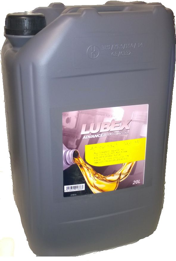 Lubex 75W80 Premium Manual Transmission Fluid / Oil 20 Litre