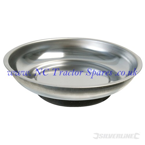 Magnetic Parts Dish 150mm (Silverline)