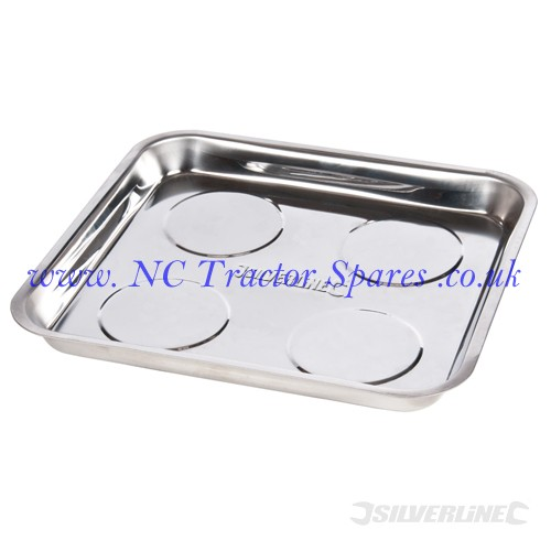 Magnetic Parts Tray 270 x 292mm (Silverline)
