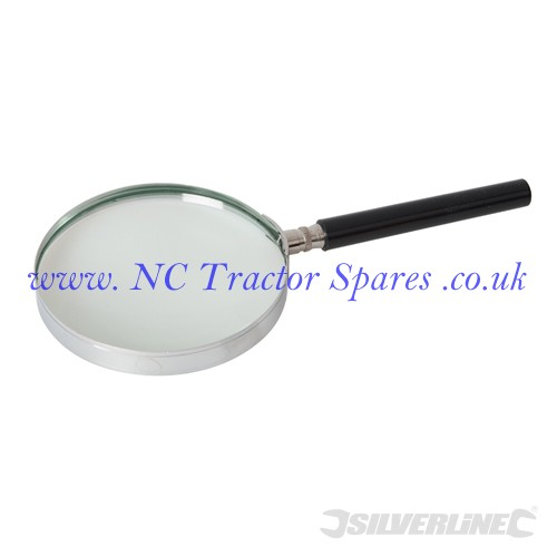 Magnifying Glass 100mm 3x (Silverline)