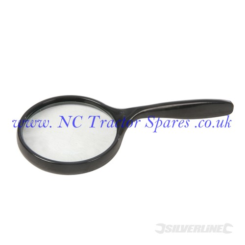Magnifying Glass 75mm  5x (Silverline)